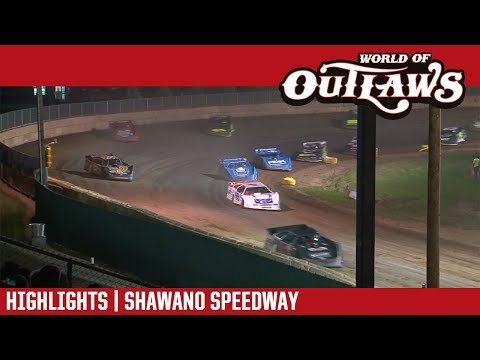 World of Outlaws Craftsman Late Models Shawano Speedway July 31, 2018 | HIGHLIGHTS