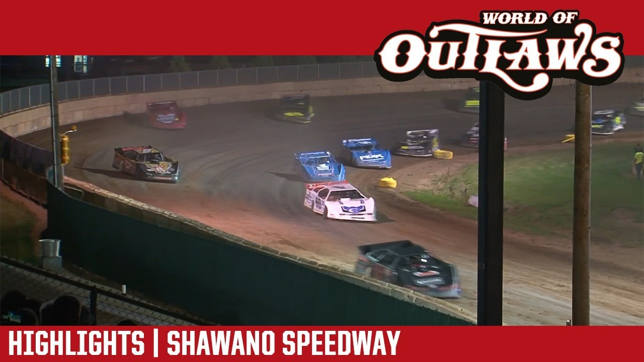 world-of-outlaws-craftsman-late-models-shawano-speedway-july-31-2018-highlights