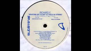 Richard F. - Feels So Strong (Original) (2000)