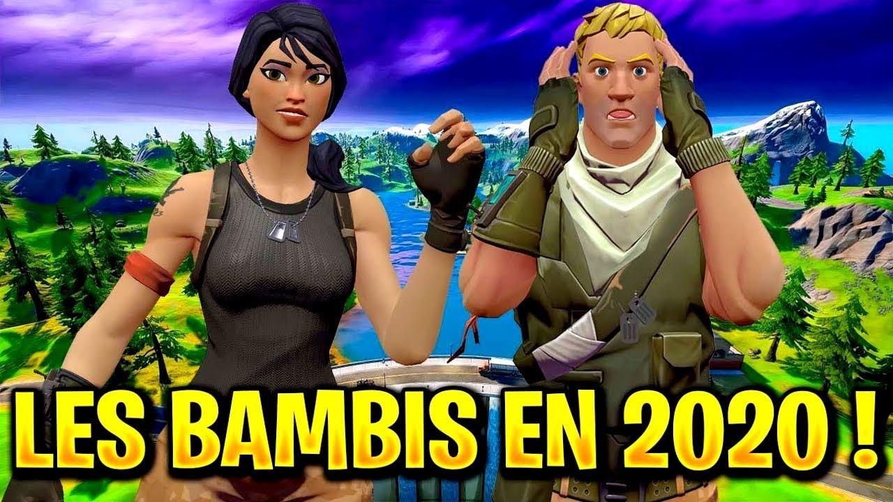 COURT MÉTRAGE FORTNITE : LES BAMBIS AMOUREUX DÉCOUVRENT 2020 !