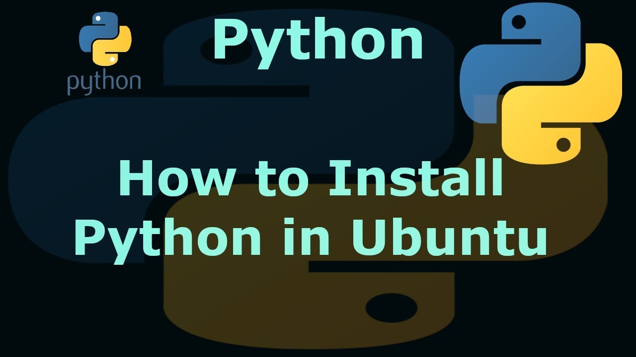 how to run python in ubuntu