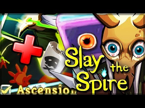GOD POISON FLASK RELIC COMBO - New Ascension Mode - Slay the Spire! (Intense as Hell)