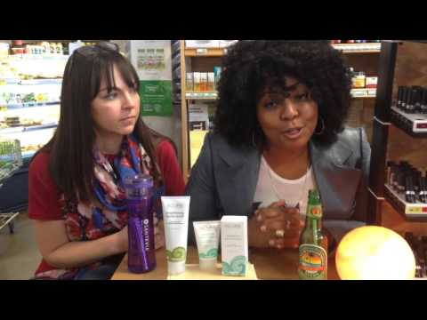 Acure Brightening Facial Scrub & Sensitive Facial Cream Review @ Georgetown Market