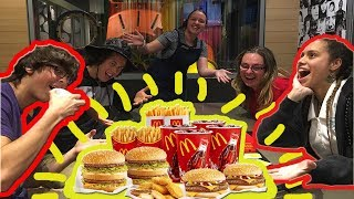 McDONALDS EATING CHALLENGE!?! (VOMIT)