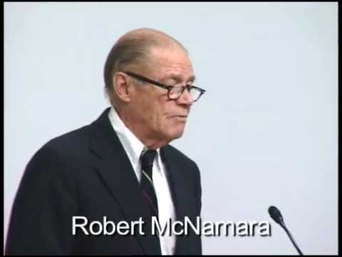"Excerpt: Robert McNamara, ""We were wrong,"" May 1995."