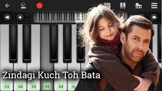 Zindagi Kuch Toh Bata (Bajrangi Bhaijaan) | Piano Tutorial | Jubin Nautiyal