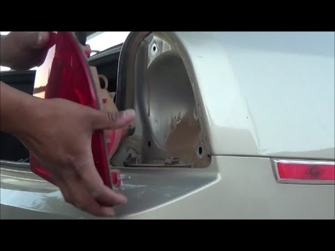 2008 2017 Chevrolet Malibu Taillight Housing Removal