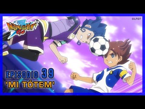 Inazuma Eleven Go Galaxy - Episodio 39 español «¡Mi tótem!»