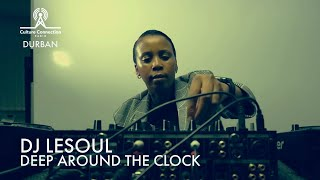 DJ LESOUL | Exclusive Afro House Set on DEEP AROUND THE CLOCK In Durban, South Africa