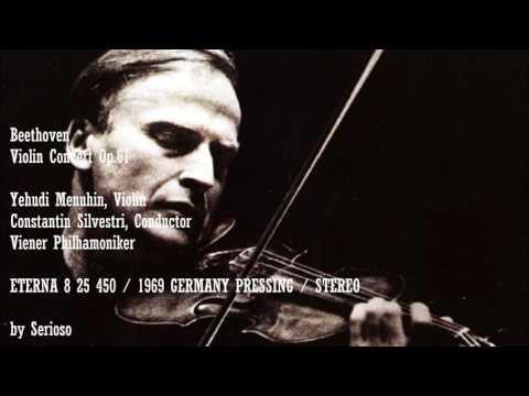 Beethoven, Violin Concert Op 61, Yehudi Menuhin, Violin