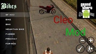 Как установить Cleo моды на Gta San Andreas на андроид