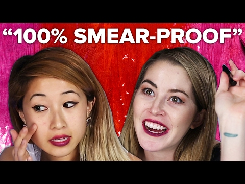 Thumbnail: People Try Smear-Proof Makeup
