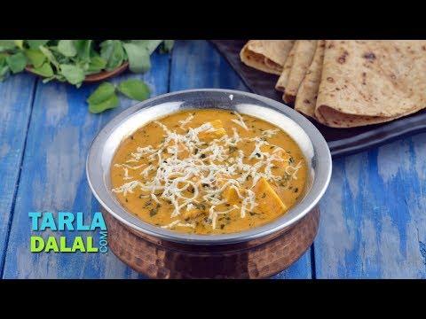 Methi Malai Paneer Subzi, Restaurant Style Sabzi by Tarla Dalal