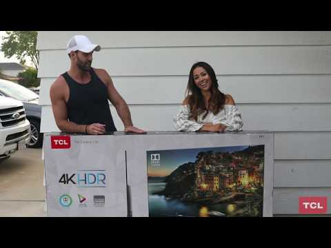 Surprise TCL Roku TV Delivery with Robby Hayes and Danielle Lombard