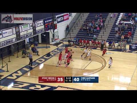 Women's Basketball vs. New Hampshire (Feb. 17, 2018)