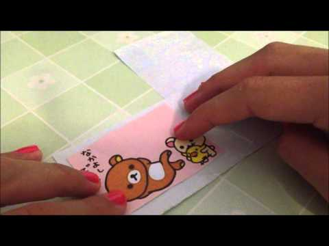 DIY sticker ~ Make Your Very Own Stickers for Resin!