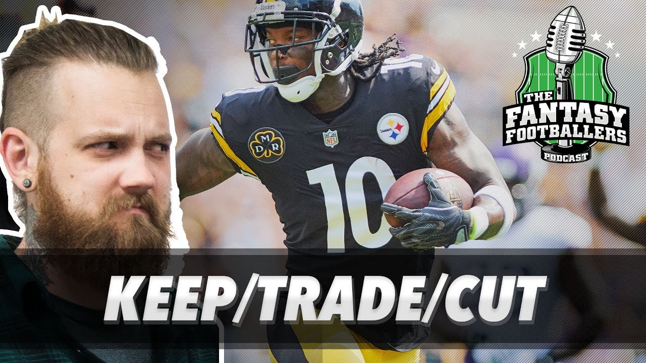 Fantasy Football 2017 - Week 6 Keep/Trade/Cut, Pump the Brakes, Big ...