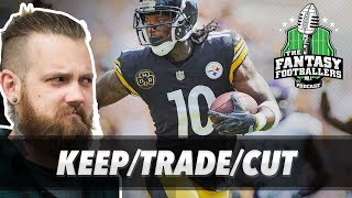 Fantasy football 2017 - week 6 keep/trade/cut, pump the brakes, big questions - ep. #455