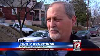 City cleans up filthy conditions of hoarder house