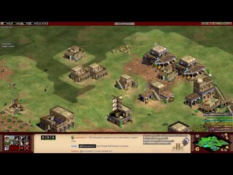 "Aoe2 HD: ""African Kingdoms"" - Berbers, Knight Rush (Yucatan)"