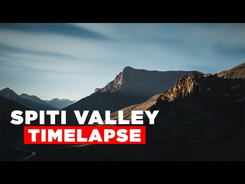 Spiti Valley Timelapse | Spiti Valley Road Trip | Spiti Valley in Winter - Things to See in Spiti