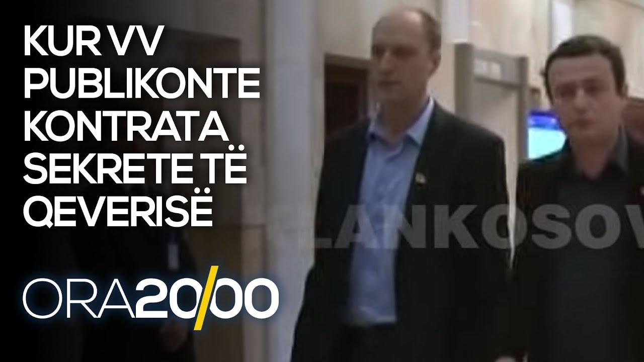 Kur VV publikonte kontrata sekrete të qeverisë - 17.04.2021 - Klan Kosova