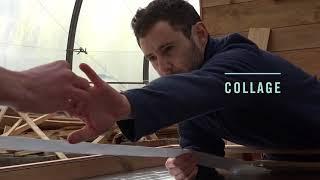 How to build homemade roof slate solar air heater - DIY / Le chauffage Solaire en ardoises