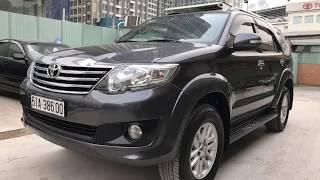 [Đã bán] Bán xe Toyota Fortuner 2012 cũ 2.7 V một cầu số tự động giá 675 triệu