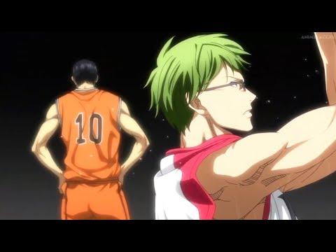 Midorima & Takao Vs Midorima & Akashi - Amazing Shot