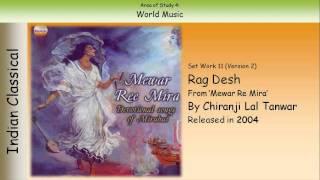 11.2. Rag Desh - Chiranji Lal Tanwar (GCSE Music Edexcel)