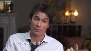 The Vampire Diaries - EW - Ian Somerhalder, Nina Dobrev talk vampire sex