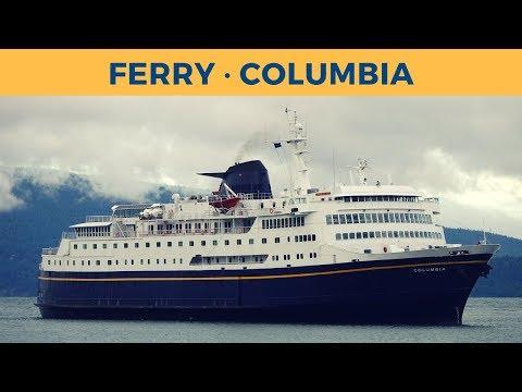 Arrival of ferry COLUMBIA in Bellingham (Alaska Marine Highway System)