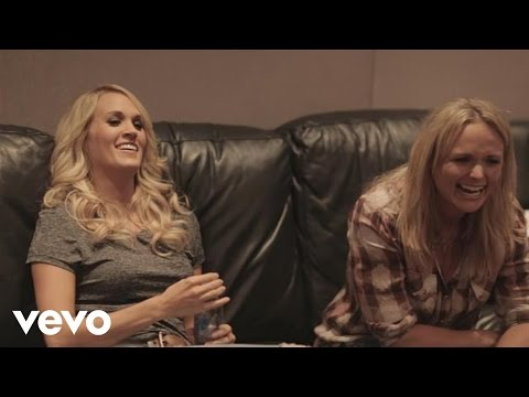 Miranda Lambert - Somethin' Bad (duet with Carrie Underwood) - Studio Behind The Scenes