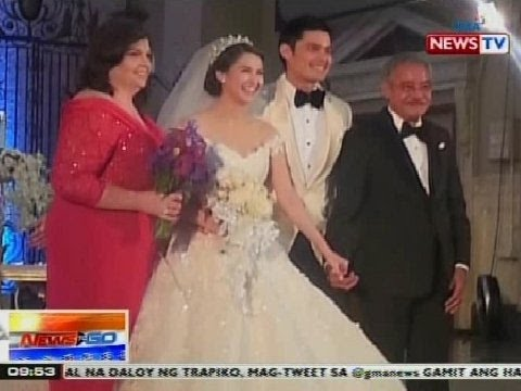 NTG: Dingdong Dantes at Marian Rivera, ikinasal na - YouTube