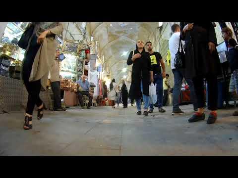 Vakil Bazaar بازار وکیل- Shiraz, Iran - timelapse