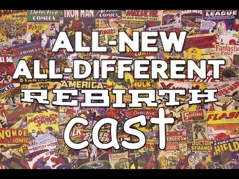 All new all different rebirthcast ep 3 talking about Steve Dillon art and last series he worked on