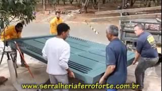 Portão Basculante FERRO FORTE