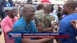 Lagos APC Governorship Primary: The Ambode-Sanwo-Olu Contest Pt.1  Politics Today 