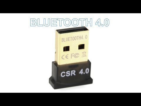 Блютуз адаптер для магнитолы и стационарного компьютера Bluetooth адаптер V4.0 CSR
