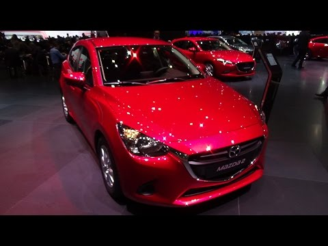2018 mazda 2 exterior and interior geneva motor show. Black Bedroom Furniture Sets. Home Design Ideas