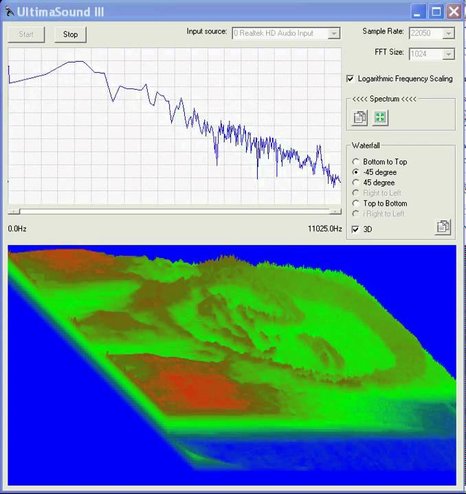 UltimaSound: A free audio speech and music spectrogram