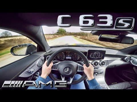 Mercedes C63 S AMG COUPE Edition1 POV Test Drive 4.0 V8 BiTurbo SOUND By AutoTopNL