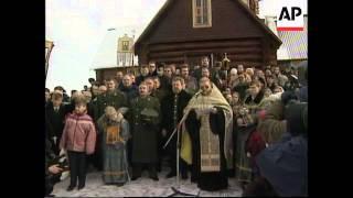 RUSSIA: STATUE OF TSAR NICHOLAS II UNVEILED