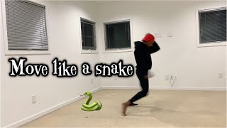 MOVE LIKE A SNAKE TUTORIAL| NEW INTRO SONG FT SUBS