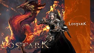 LOST ARK Online - CBT2 Devil Hunter Max Level 50 Guardian Raid Hell Gaia Dungeons Boss Gameplay