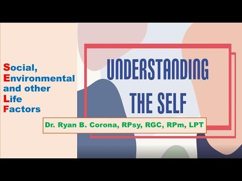 Understanding the self: Module 1
