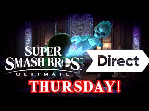 Smash Bros Ultimate Direct On Thursday! Spirits and Final Roster!