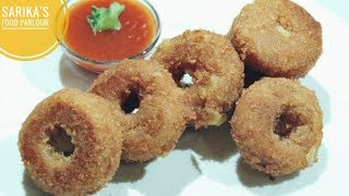 Crispy Onion Ring Recipe   Cheese Potato Stuffed Onion Rings   How To Make Onion Rings