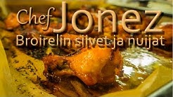 Chef Jonez - Broiskun siivet ja nuijat
