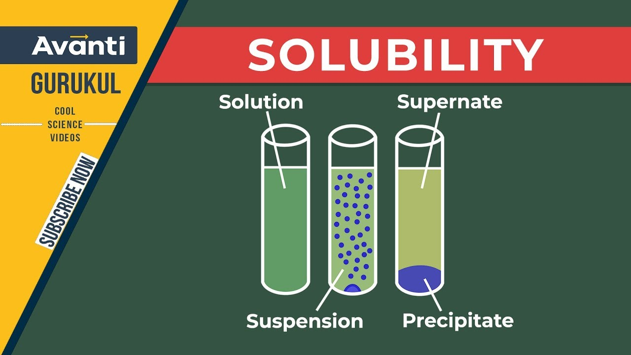 Solubility | Solutions | Class 12 Chemistry